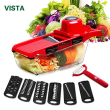 sampurchase  Myvit Vegetable Cutter with Steel Blade Mandoline Slicer Potato Peeler Carrot Cheese Grater vegetable slicer Kitchen Accessories