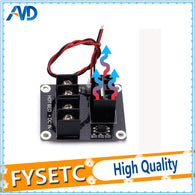 sampurchase 2pcs New 3D printer Hot Bed MOSFET Power Expansion Board / Heat bed Power Module For Anet A8 A6 A2 Compate Black Ramps 1.4