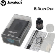 sampurchase Joyetech RIFTCORE DUO RTA Tank with RFC Heater Molecule Heating Technology 3.5ML E Cigarette Atomizer Self-Cleaning Vape Vaper