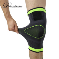 sampurchase 4XL basketball tennis hiking cycling knee brace support 3D weaving Pressurized Straps bandage Sports knee pads Patella Guard 1pc