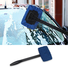sampurchase Auto Window Cleaner Windshield Windscreen Microfiber Car Wash Brush Dust Long Handle Car Cleaning Tool Car Care Glass Towel