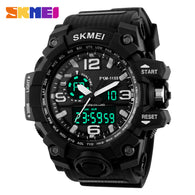 sampurchase SKMEI Man Watch Tops Digital Sport Waterproof Watches Chronograph Wristwatch Mens Military
