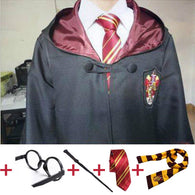 SAMPURCHASE Robe Cloak with Tie Scarf Harry Potter Cosplay