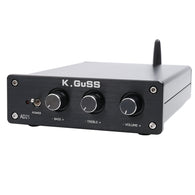 sampurchase K.GUSS AD21 Class D HIFI audio TPA3255 2.1 Bluetooth (IIS) DAC PCM5100 power amplifier 150W+150W+300W