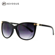 sampurchase AEVOGUE Cat Eye Classic Brand Sunglasses Women Sun Glasses Vintage Oculos CE UV400 AE0098