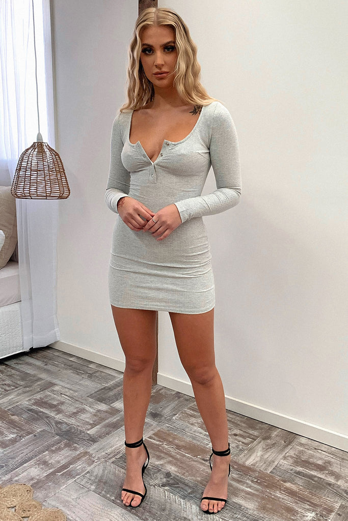 Tampa Dress - Grey