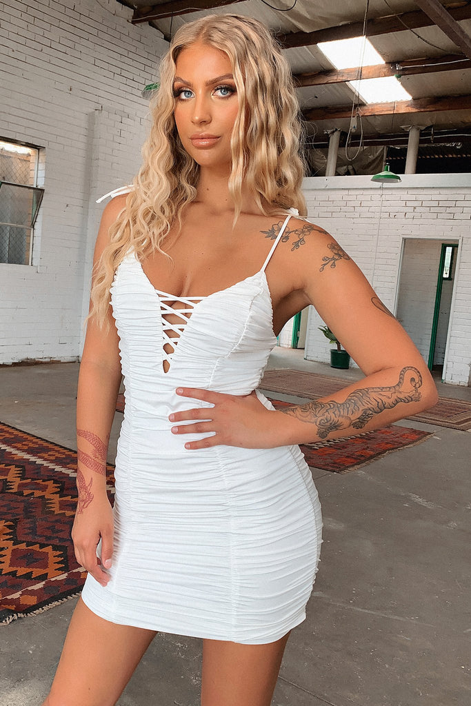 Rogue Dress - White