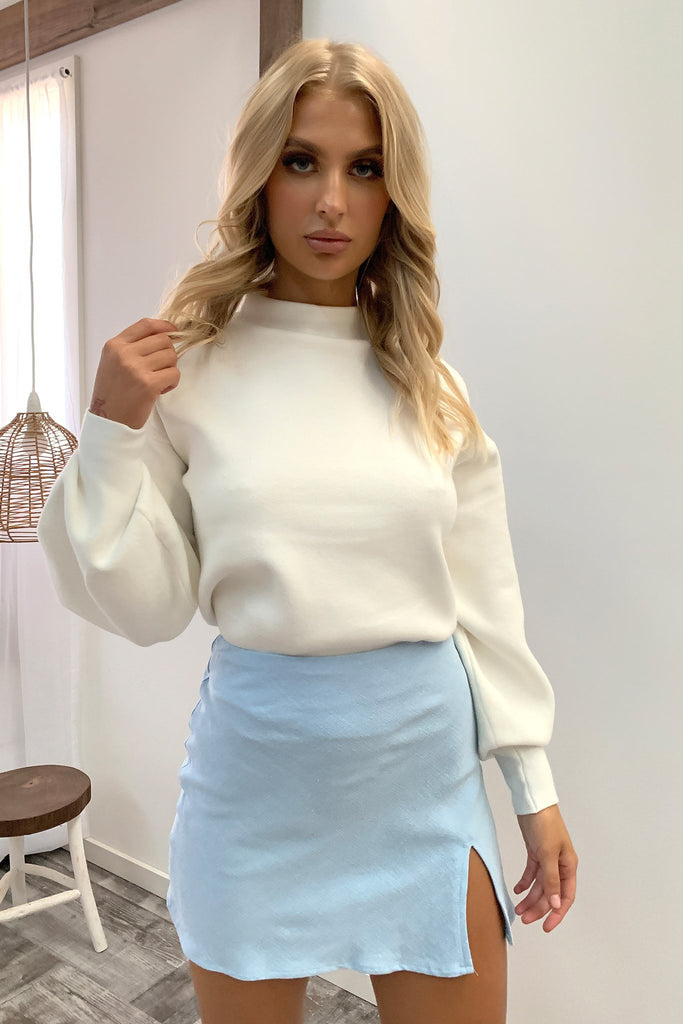 Zara Skirt - Baby Blue