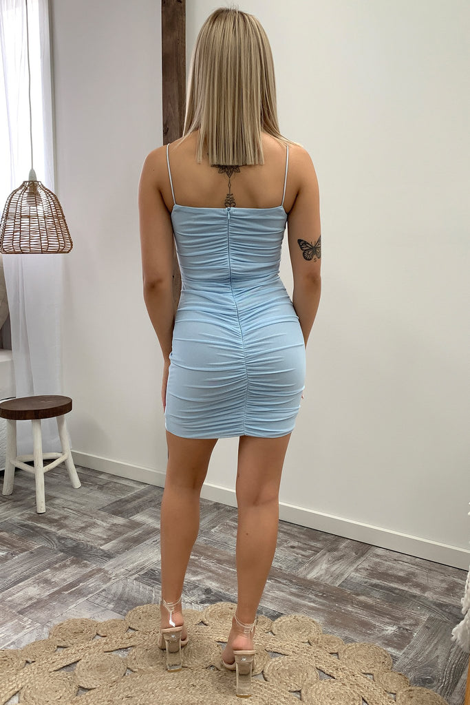 Renn Dress - Baby Blue