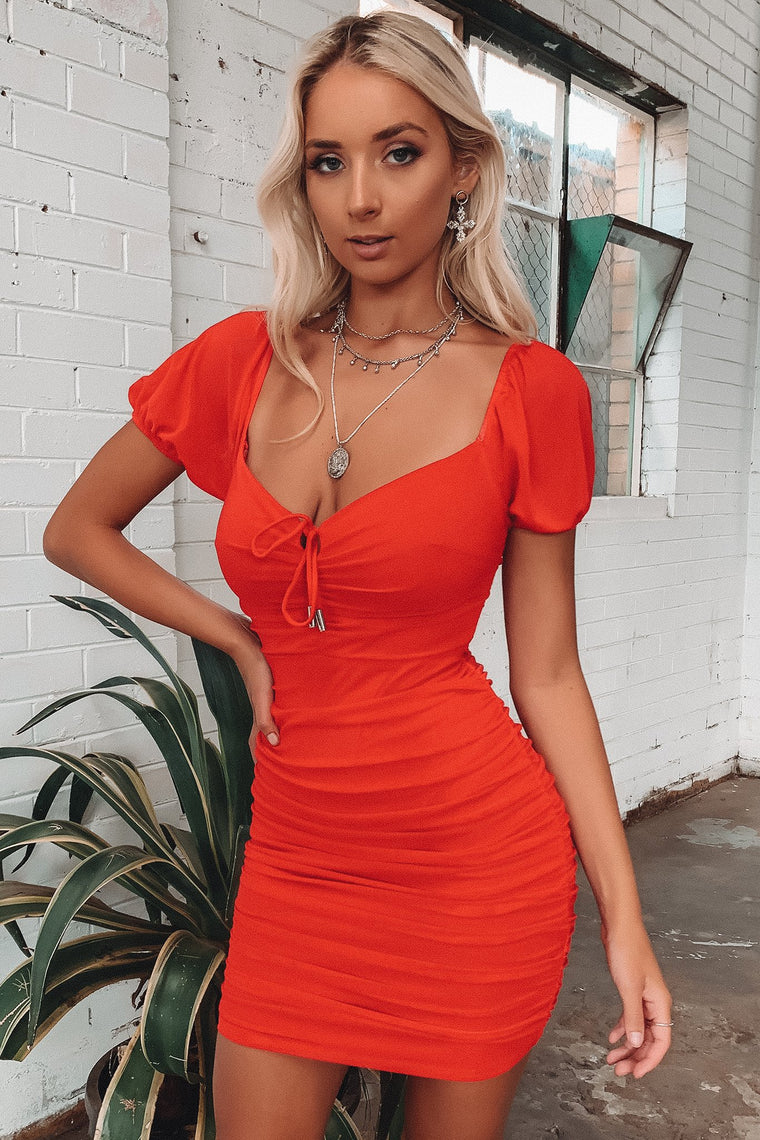 Adelaide Dress - Red