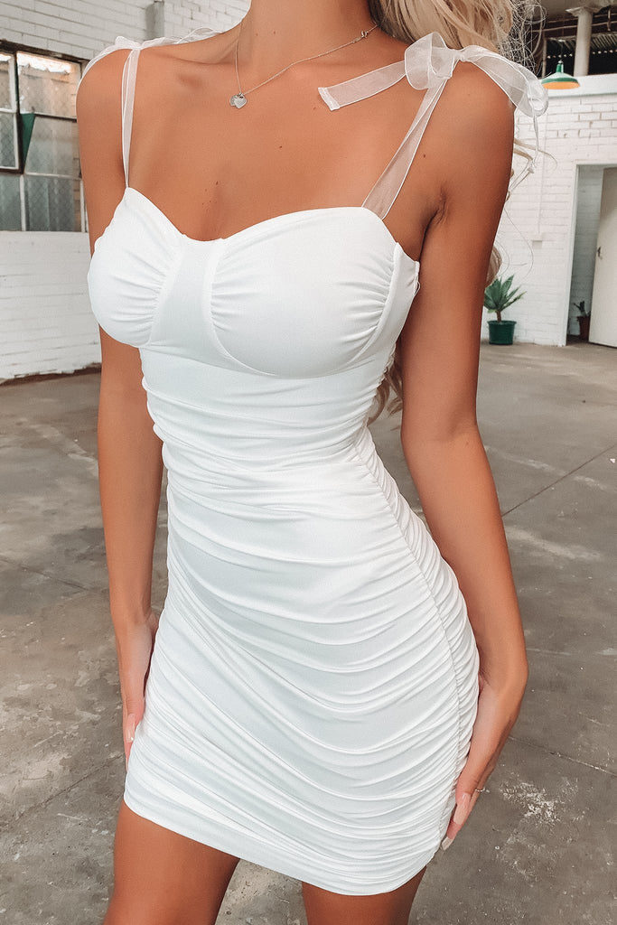 Lucille Dress - White