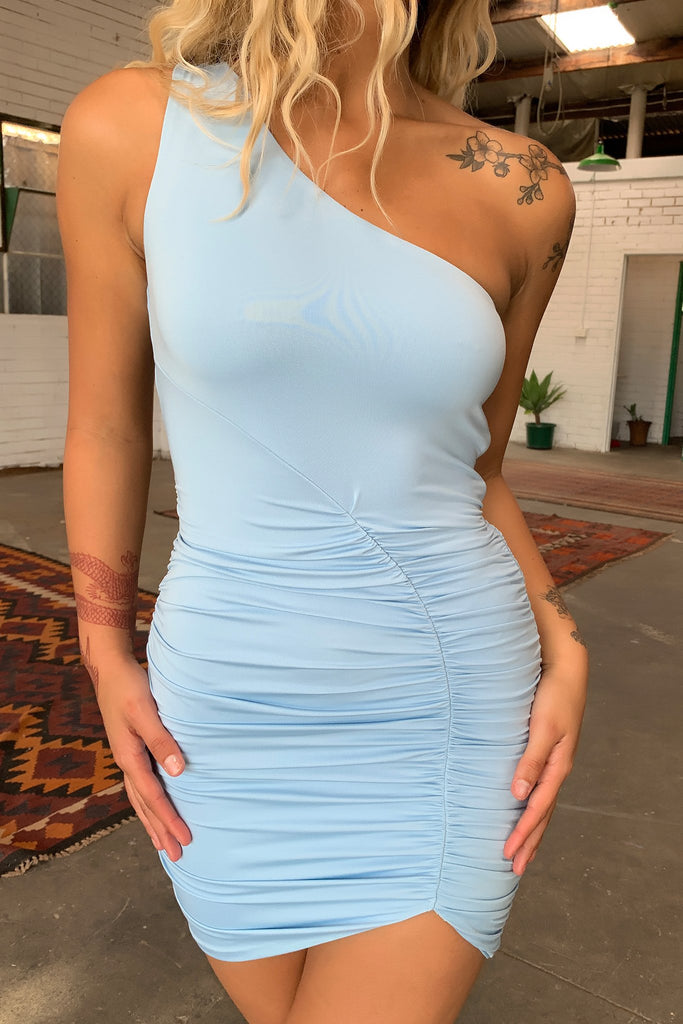 Tergel Dress - Baby Blue