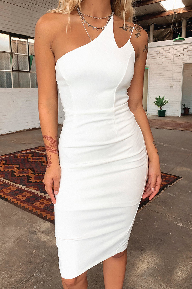 Pacey Dress - White