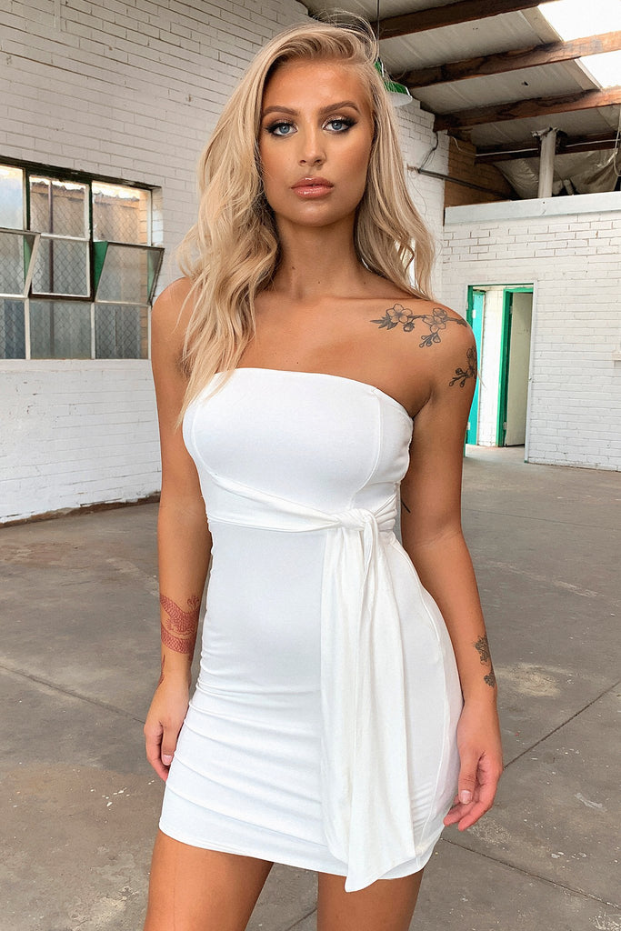 Holiday Dress - White