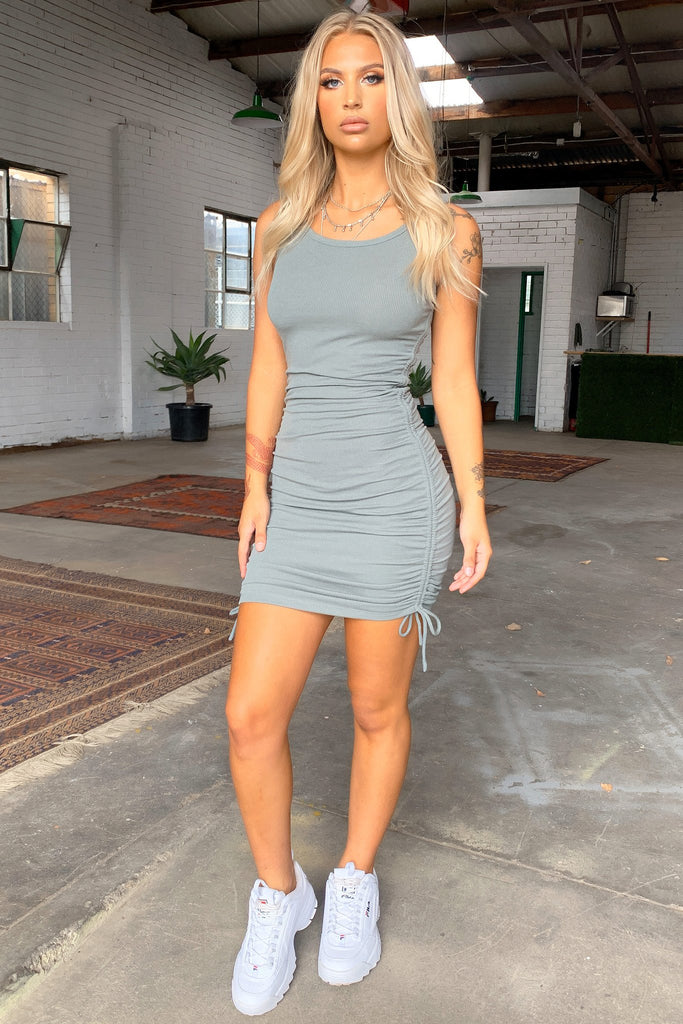 Lailah Dress - Khaki