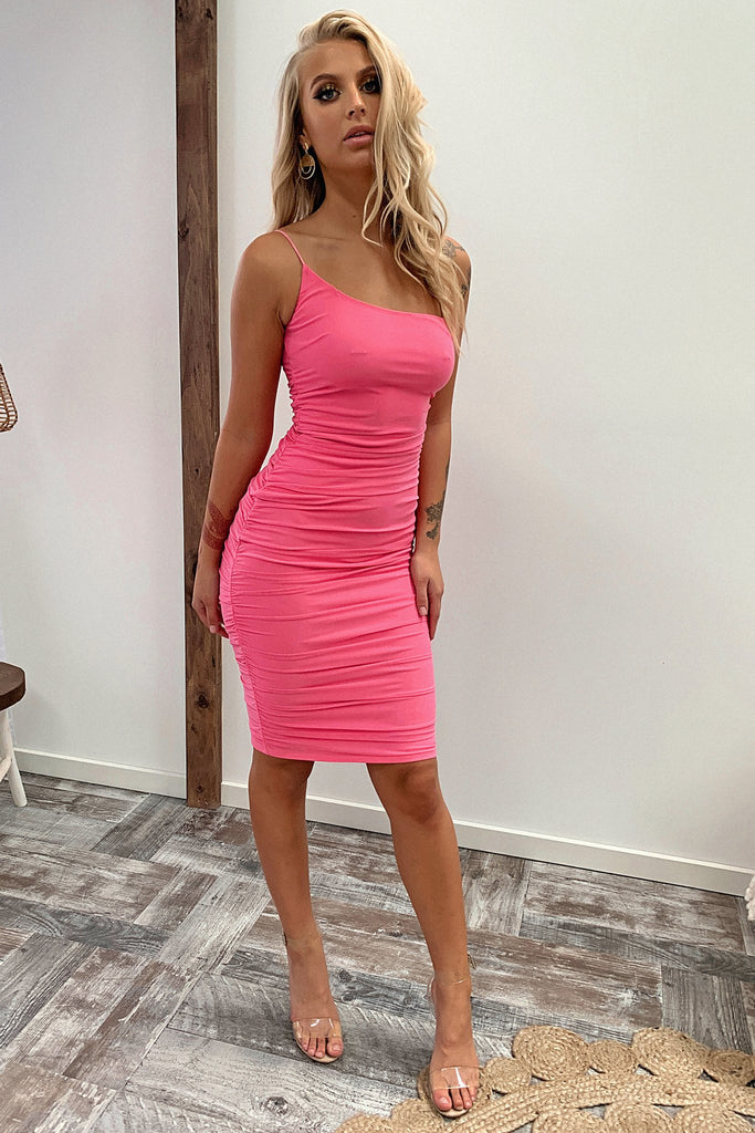 Iva Dress - Hot Pink