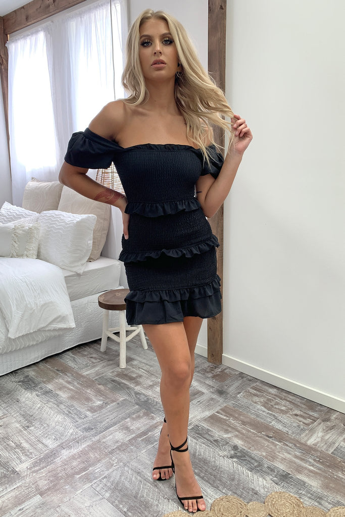 Bumble Dress - Black