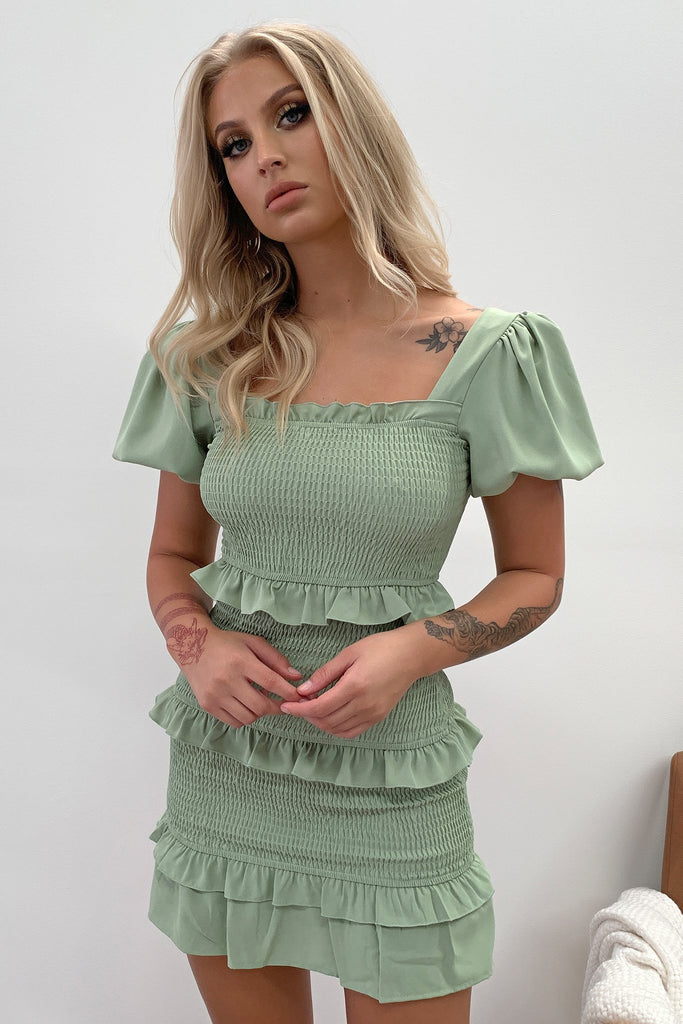 Bumble Dress - Khaki
