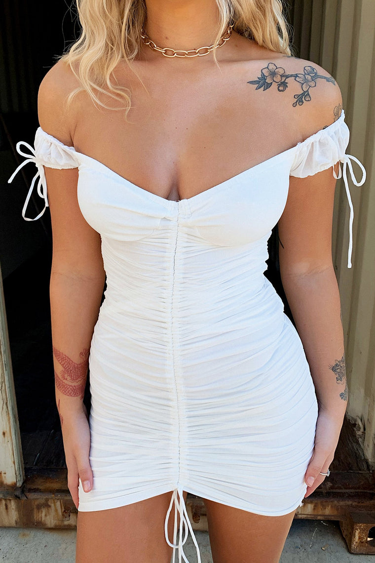 Chicago Dress - White