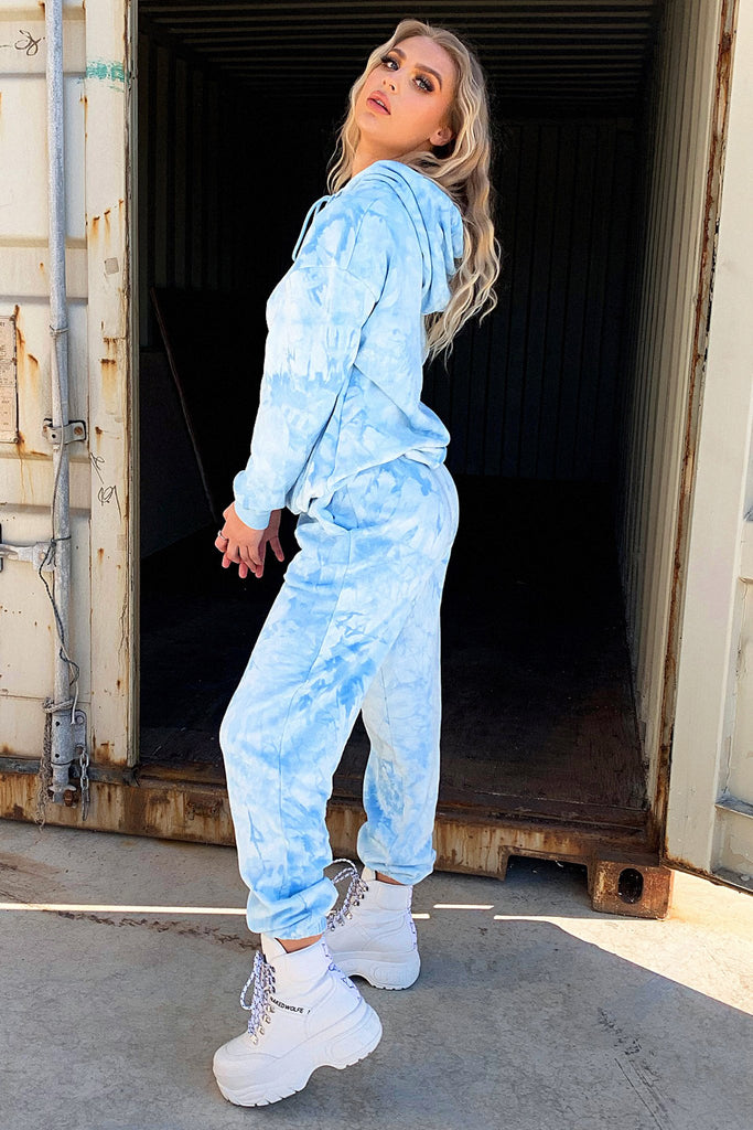 *Pre-Order* Kamakazi Trackpant - Blue Tie Dye *Shipping Early Aug*