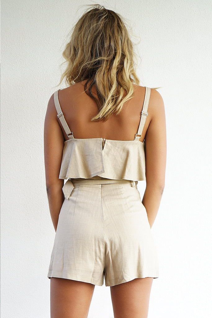 SORREL PLAYSUIT