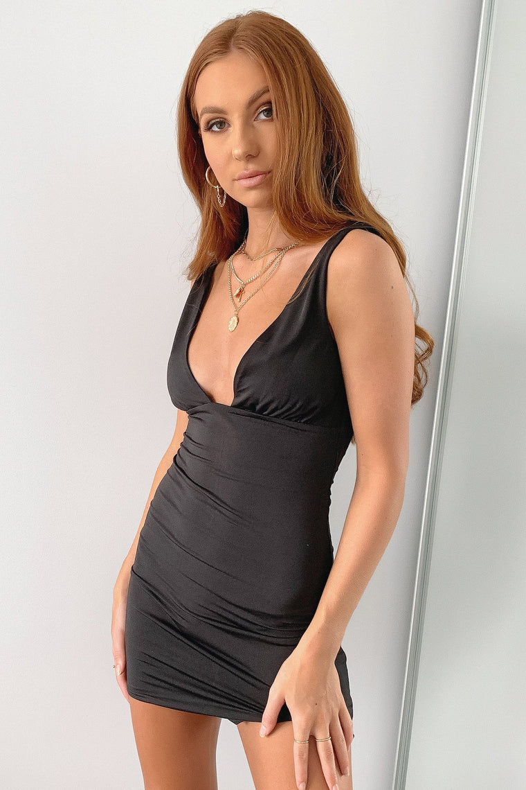 Perla Dress - Black