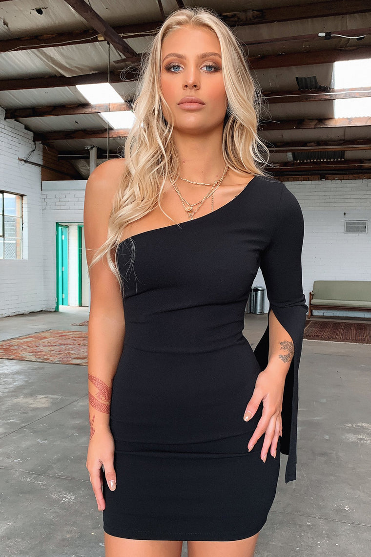 Cologne Dress - Black