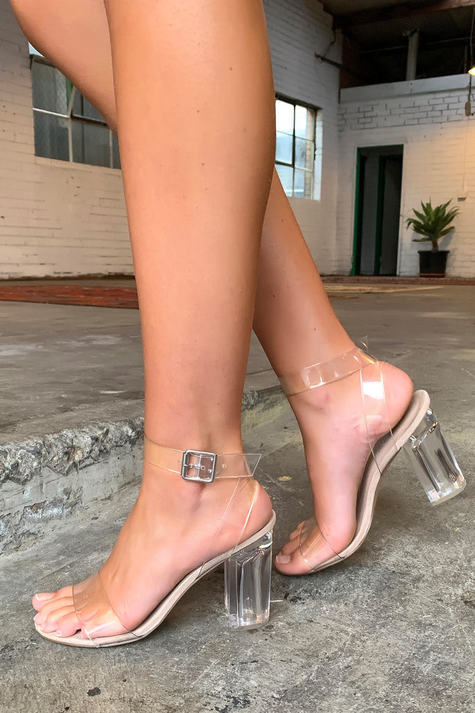 Matrix Heel - Clear