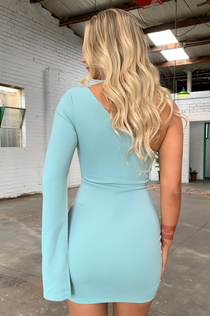 Cologne Dress - Teal