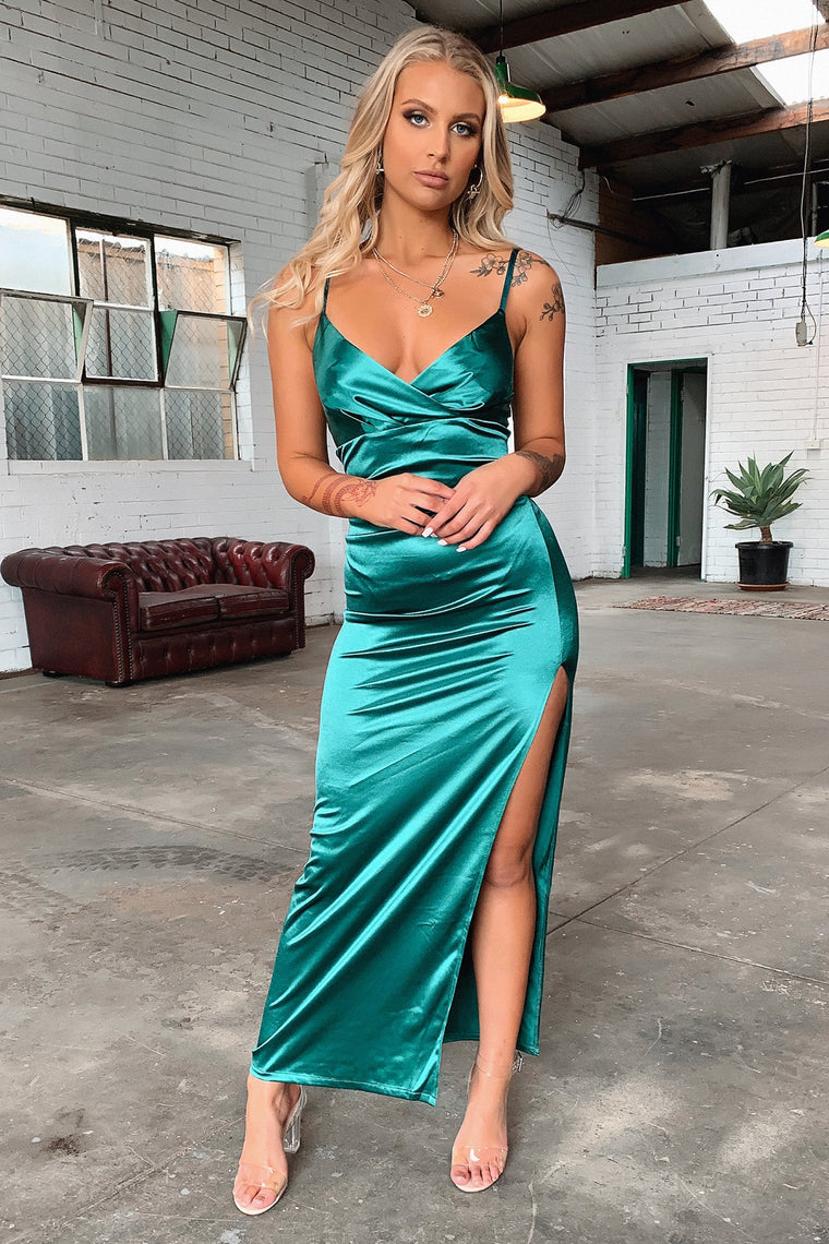 Diana Dress - Emerald