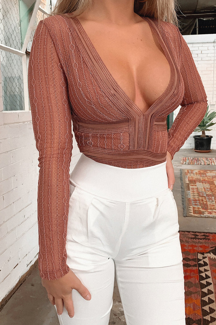 Valerie Bodysuit - Blush