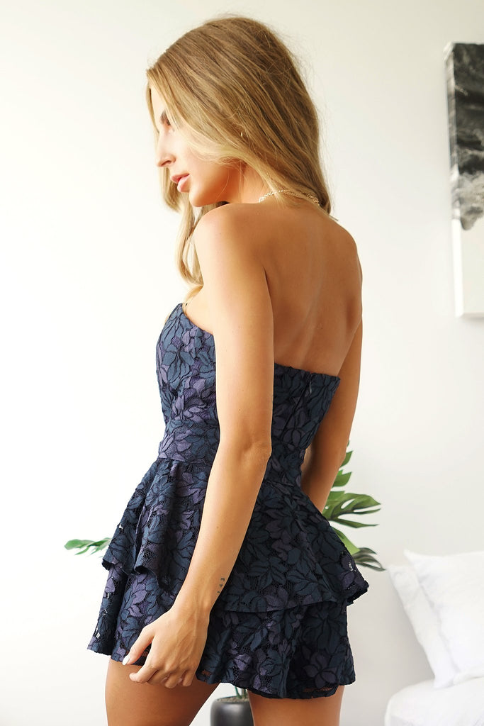 LORDE PLAYSUIT - NAVY