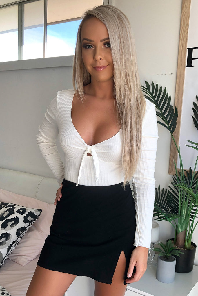 Nina Bodysuit - White
