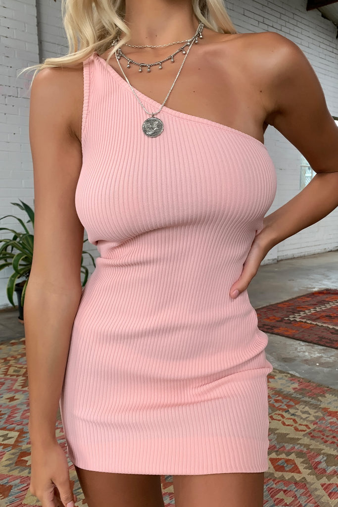 Stormi Dress - Blush