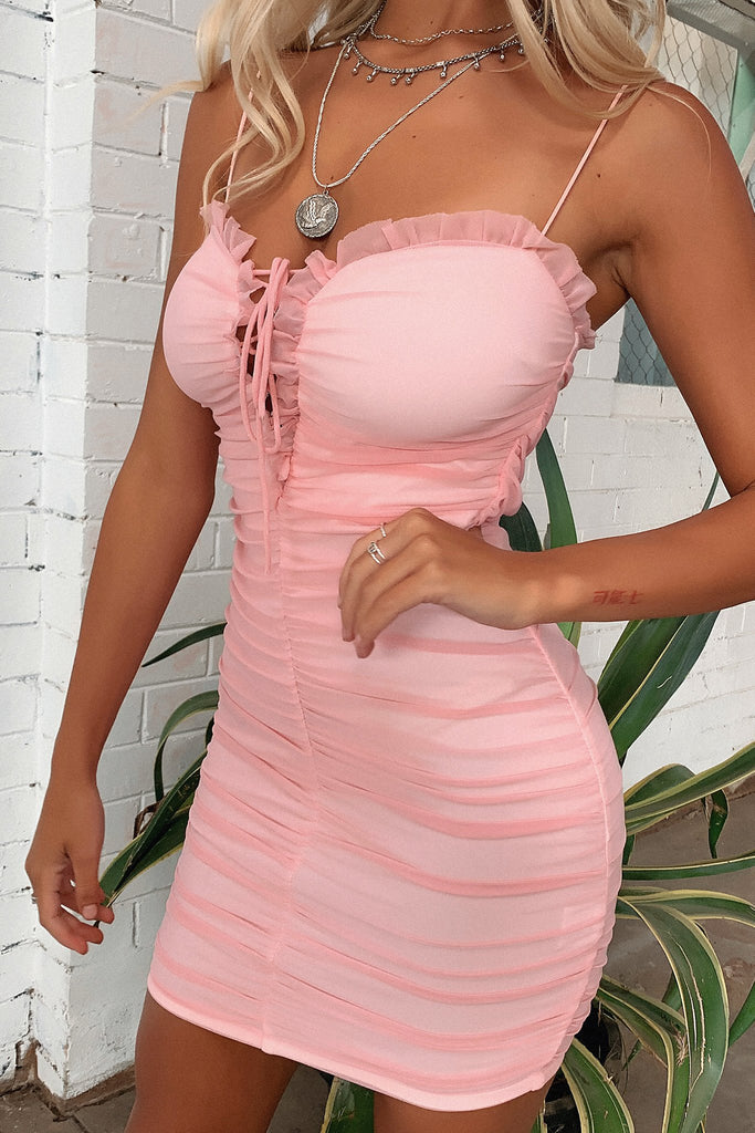 Mente Dress - Baby Pink