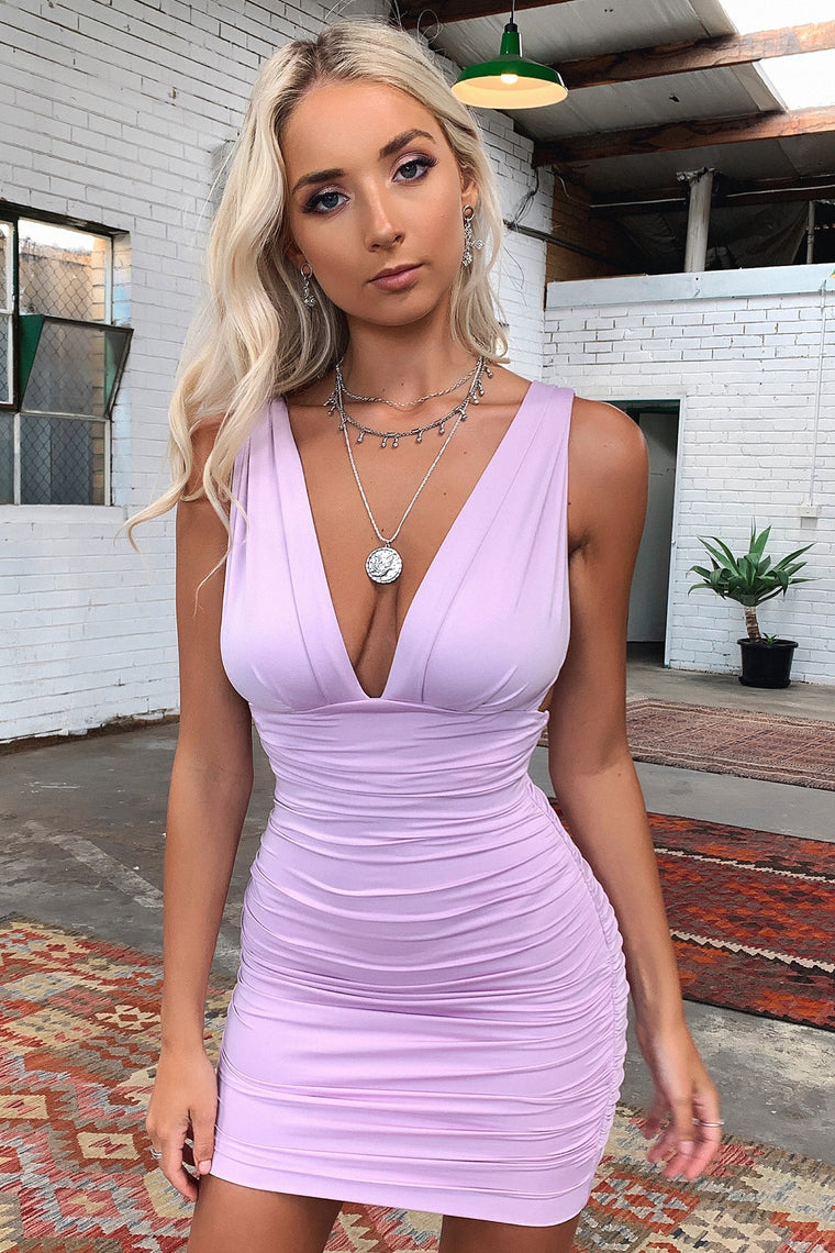 Trixie Dress - Mauve