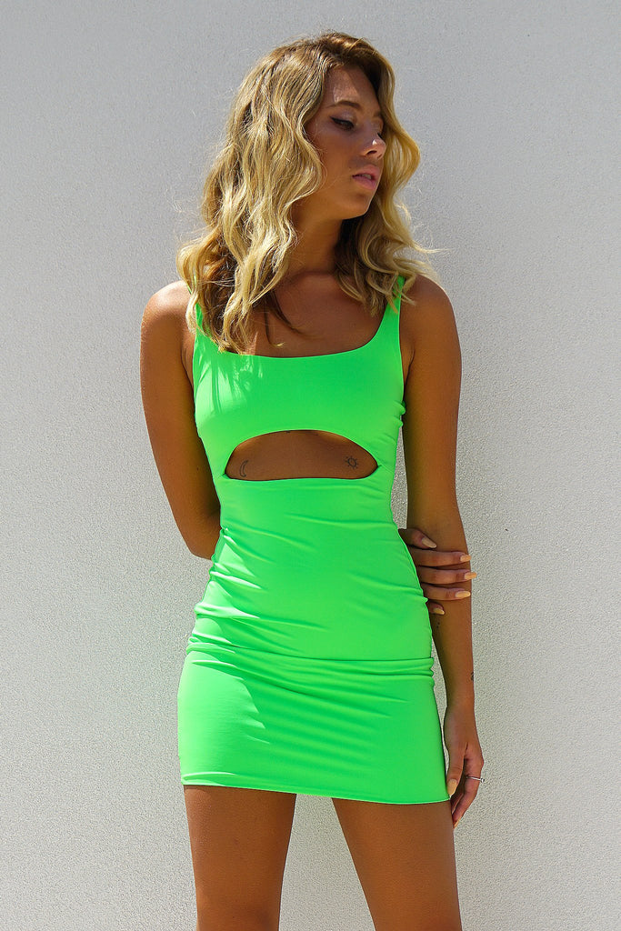 PYTHON DRESS - GREEN