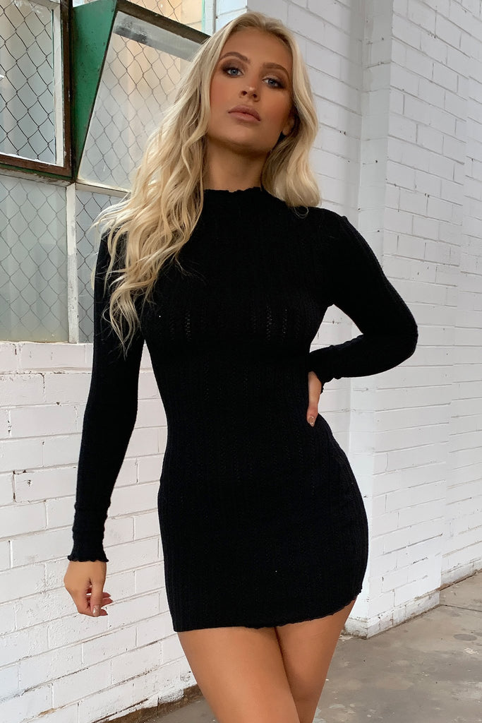 Saidie Dress - Black