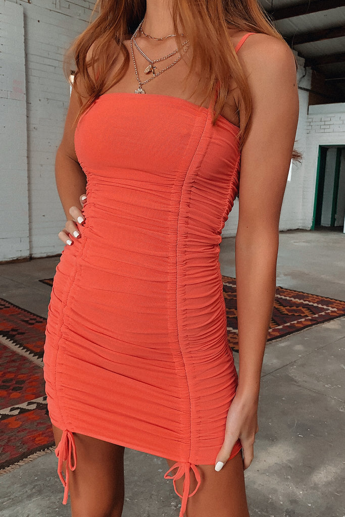 Lava Dress - Orange