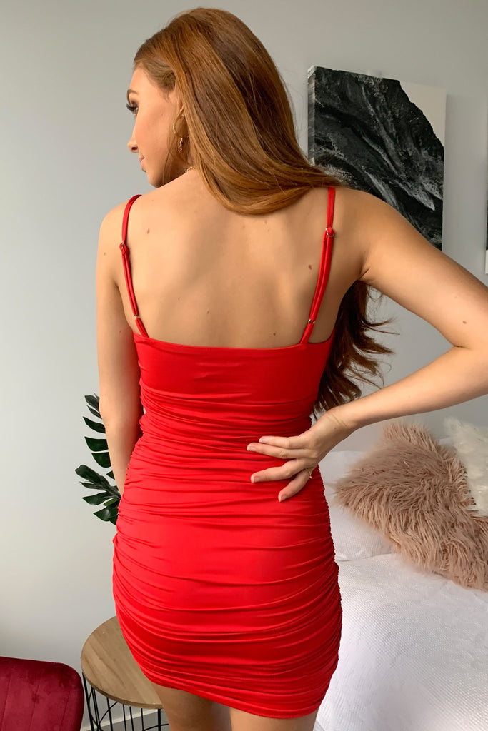 Vesna Dress - Red