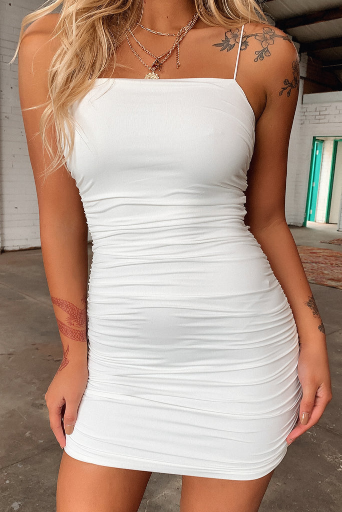 Landon Dress - White