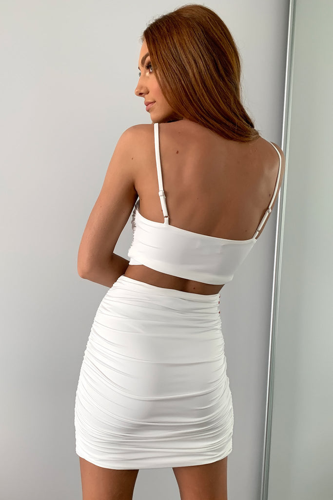 Drewanne Skirt - White