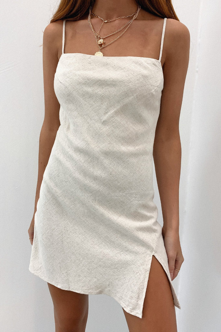 Zara Dress - Beige