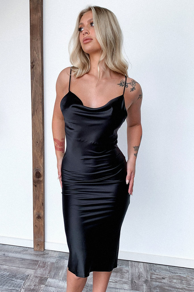 Aryan Dress - Black