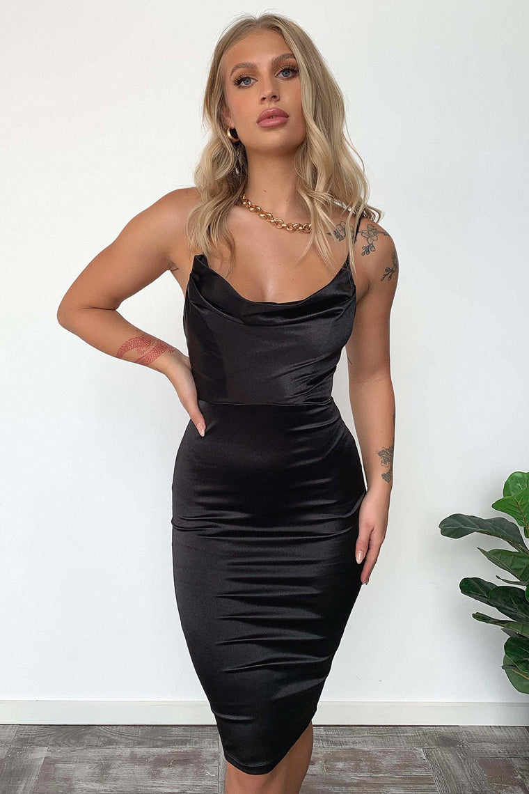 Boonah Dress - Black