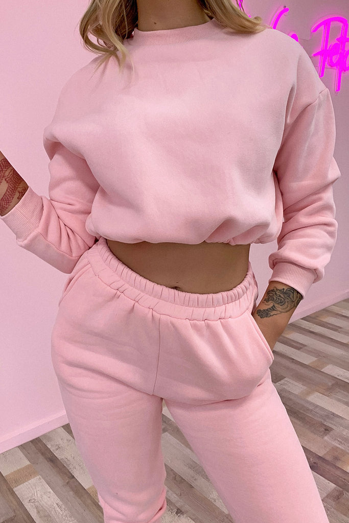 Emersyn Track Pant - Pink