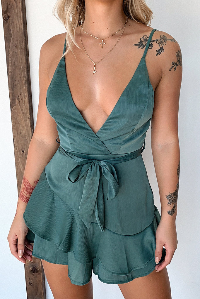 Coco Playsuit - Emerald