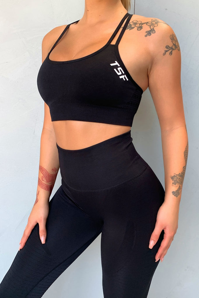Denver Sports Bra - Black