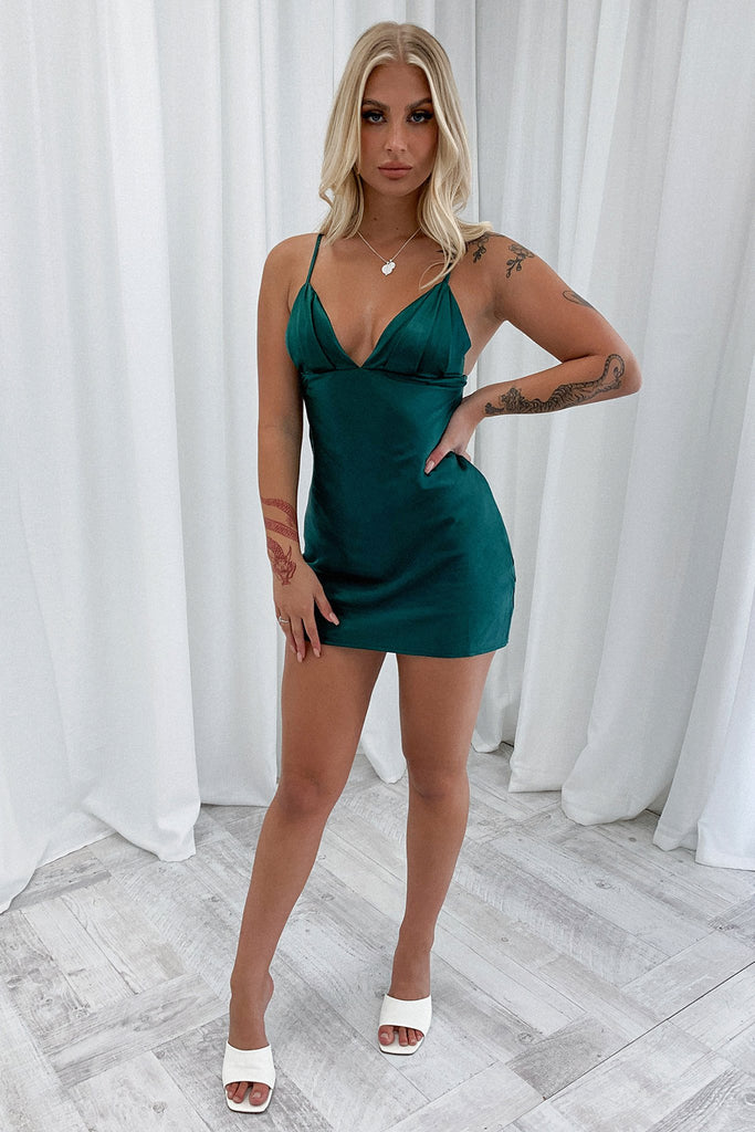 Dixie Dress - Emerald