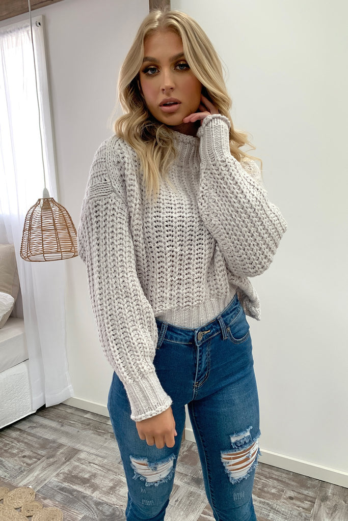 Pala Knitted Jumper - Grey